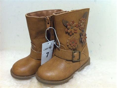New Cherokee Toddler Girl's Brown Denise Fashion Boots