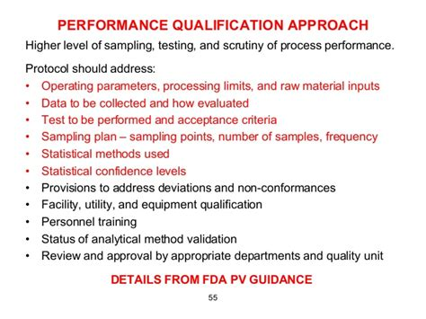fda jpb cover letter guidance operational qualification protocol template image