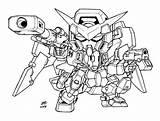 Sd Lineart Gundam Dynames Deathscythe Deviantart Version Eli Master sketch template