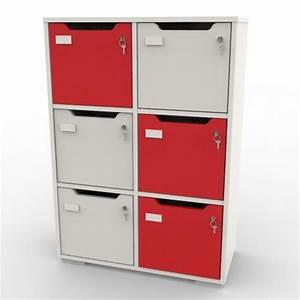 Casier De Vestiaire : meuble de rangement caseo vestiaire casier collectif en ~ Edinachiropracticcenter.com Idées de Décoration