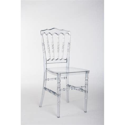 chaise napoléon chaise napoléon iii transparente direct import déco