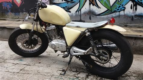 Modifikasi Motor Sanex 250cc Modif Kastem by Modif Japstyle Suzuki Thunder Modifikasi Motor Japstyle