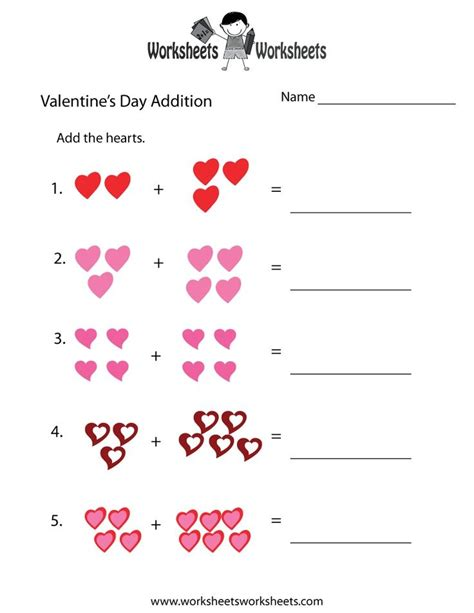 valentines day math graphing activities valentines day