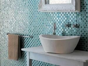Mosaik Fliesen Badezimmer : badezimmer fliesen mosaik blau ~ Michelbontemps.com Haus und Dekorationen