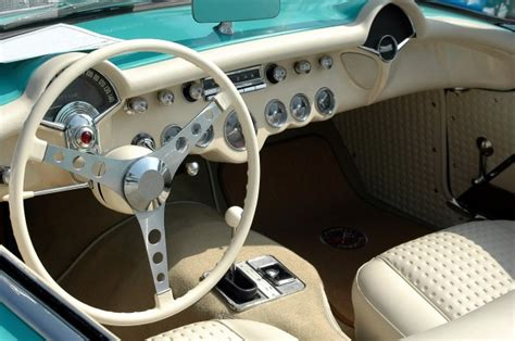 Classic Car Interior Free Stock Photo