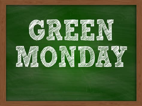 green monday celebrated