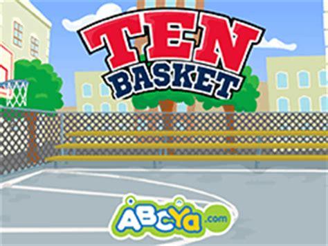 ten basket fun basketball game  kids