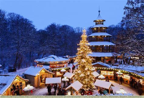 Weihnachtsmarkt Am Chinesischen Turm, Englischer Garten