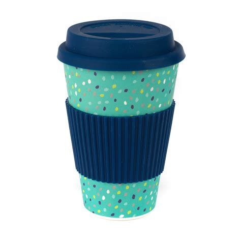 Ships within 1 business day. Cambridge CM06191 Bamboo Speckle Reusable Coffee Cup ...