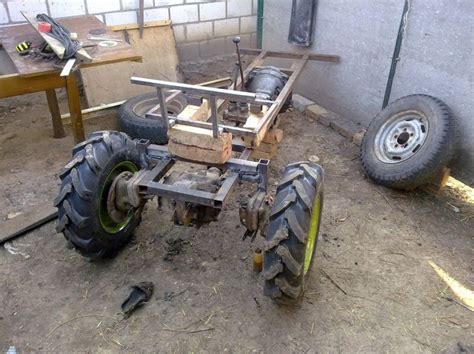 homemade tractor homemade tractor front garden for knockout small garden