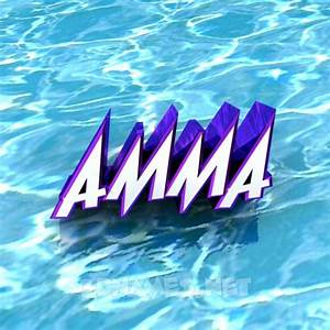 Preview of 'Water' for name: amma