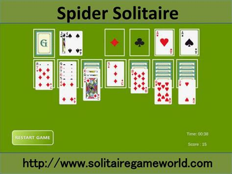 play solitaire card game  lots  fun