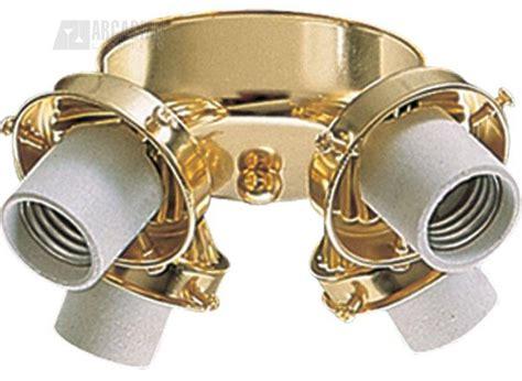 quorum lighting 2401 102 polished brass ceiling fan light