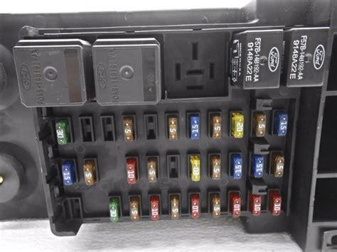 stock ford   cabin fuse box  cover