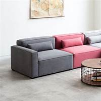 modular sectional sofas Gus Mix Modular 1-Arm Chair Right - The Century House ...