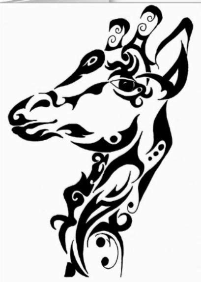 My giraffe tattoo:) | Giraffe tattoos, Tattoos, Tribal tattoos