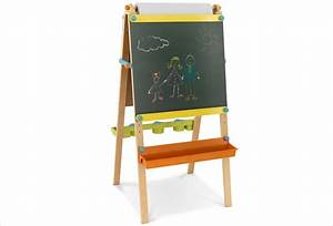 Tableau Enfant Bois : tableau double face chevalet en bois 3 en 1 hape apesanteur ~ Teatrodelosmanantiales.com Idées de Décoration