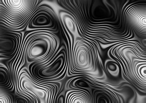 Interference wave abstract pattern monochrome free image