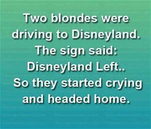 Hysterically La... Funny Blonde Quotes