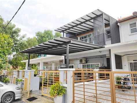 aluminium composite panel  awning roofing acp  selangor kl