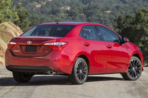 Toyota Corolla 2014 S by 2014 Toyota Corolla S Rear Side View On Road Photo 7