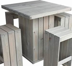 Bartisch Set Holz : bartisch toulouse holz stehtisch gartentisch bistrotisch biertisch holztisch heim garten ~ Indierocktalk.com Haus und Dekorationen