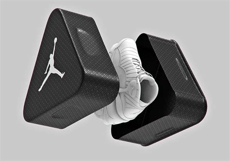 triangle air jordan shoe box concept sneakernewscom