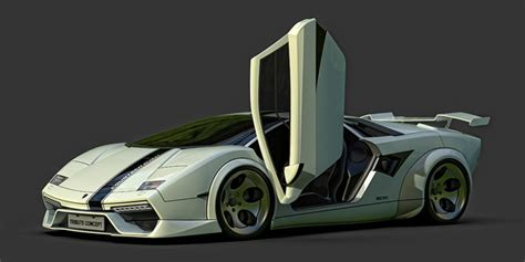 Lamborghini Countach Spirit concept car - the STORY on ...