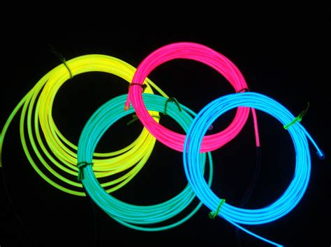 light up your with electroluminescent el wire montrose makerspace - Lighted Wire