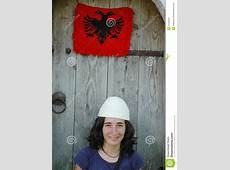 Portrait Of An Albanian Girl With Hat Stock Photos Image
