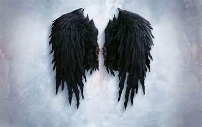 Wings Angel Wallpapers Background Desktop Dark Devil