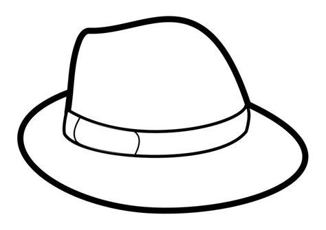 dibujo para colorear sombrero 27880 sombreros de ala jewelry drawings y chokers