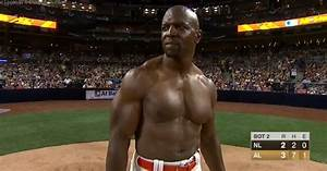 Terry Crews Strikes Out After Performing Pec Dance At