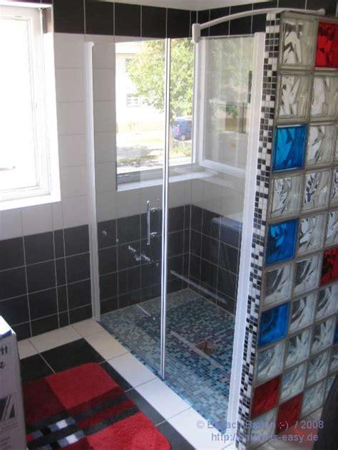 Duschtrennwand Selber Bauen duschwand nicht selbst gemacht einfach bauen
