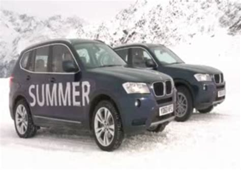 Bmw Shows Importance Of Using Correct Tires This Winter