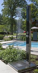 Dusche Für Garten : gartendusche kuba mit schwarzer glasfront hitl gmbh ~ Markanthonyermac.com Haus und Dekorationen