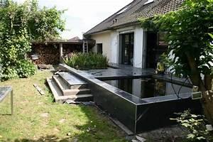 Bassin De Terrasse : bassin integr ds une terrasse ~ Premium-room.com Idées de Décoration