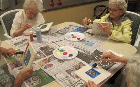 fun ideas  alzheimers weekly field trips crafts