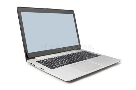 si鑒e pc il lato moderno computer portatile e si apre immagine stock immagine di orizzontale oggetti 31125223