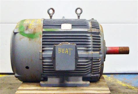 Westinghouse Electric Motor by Sls1b12 Westinghouse Electric Motor 75hp 1780rpm 14578lr