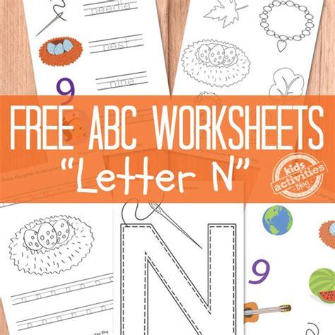love n learn preschool letter n worksheets free printable the alphabet 814