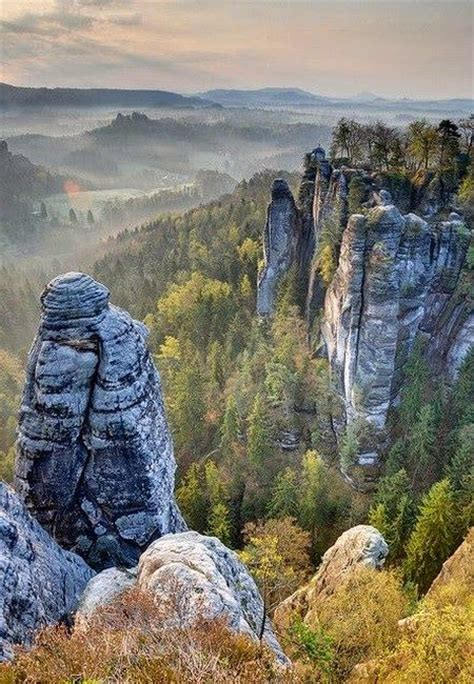 saxon switzerland national park germany germany pinterest