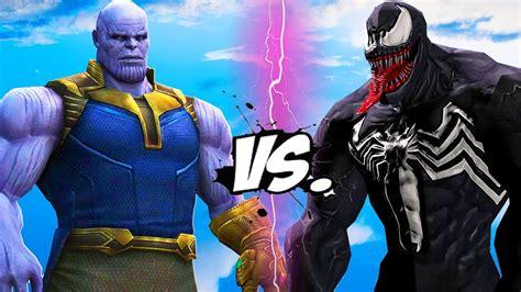 thanos  venom infinity battle youtube