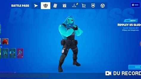 fortnite chapter  rippley  sludge skin complete styles