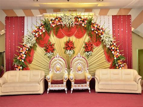 Simple sweetheart stage decorations s stage wedding deco