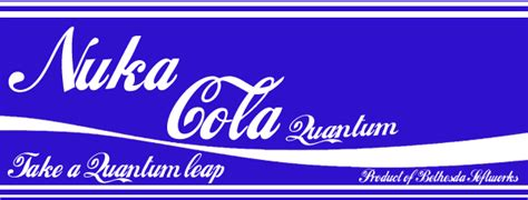 Nuka Cola Quantum Label Printout by Nuka Cola Quantum Bottle Label By Griffo619 On Deviantart