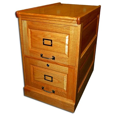 File Cabinets For Sale by Two Drawer Oak File Cabinet With Raised Side Panels For
