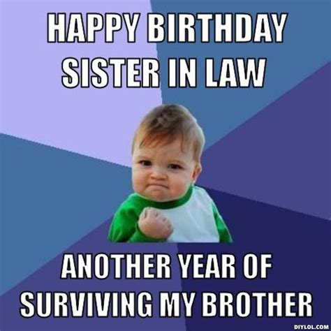 Birthday Sister Meme - 152 best images about verjaardagswensen on pinterest keep calm happy birthday sister and