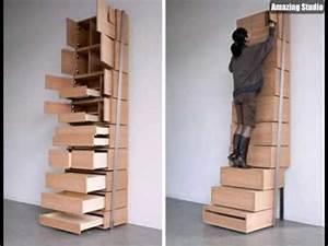 Platzsparende Multifunktionale Möbel : erfinderische platzsparende mobel design ~ Michelbontemps.com Haus und Dekorationen