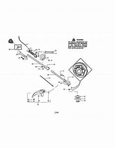 358 796120 Craftsman 34cc 2 1 Cu  In  4 Cycle Gasoline